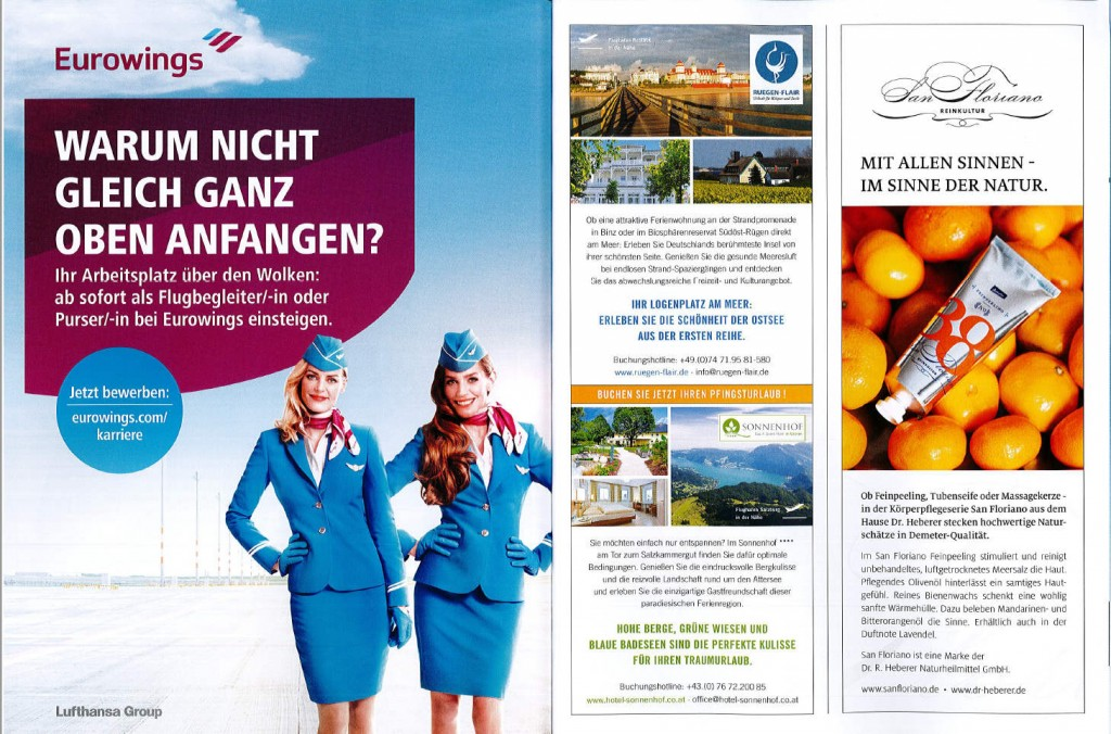 Rügen Flair bei Eurowings